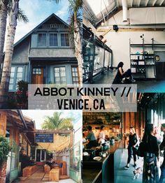 Abbot Kinney Street Guide / Venice, CA