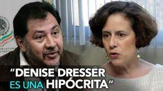 Noroña vuelve a Criticar a Denise Dresser; ¡Amenaza con Demandarlo!