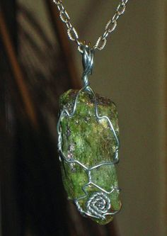 RARE JUNGLE GREEN Tanzanite  The Violet Flame by RivalekasKonjures, $208.00