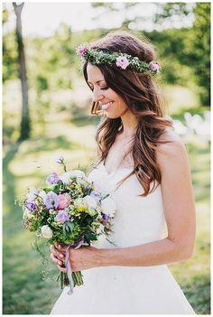 September Flower Bouquet, Fine art Wedding by Daniela Porwol Photography, SalzburgFine art Wedding, Sommerhochzeit in Stuttgart, Steinbachhof