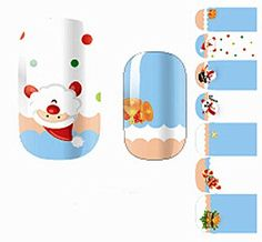 1Sheet Essential Popular Nails Art Wraps Sticker Pedicure Designs Self Adhesive Flowers Foil Fashion Pattern NO17 * Be sure to check out this awesome product.