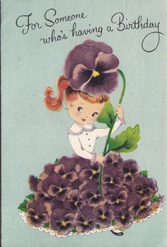 Greetings – A short history of the greeting card. Happy Birthday Vintage, Happy Birthday Greetings, Birthday Greeting Cards, Retro Birthday, Vintage Greeting Cards, Vintage Postcards, Vintage Ephemera, Vintage Paper, Old Cards