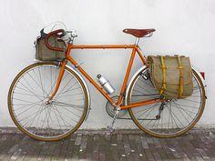 1970's Alex Singer bicycle and it's orange!