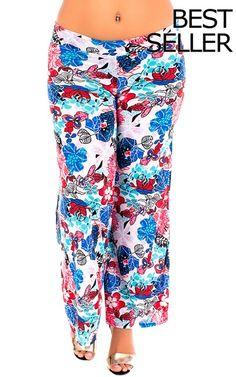 000-Pant-PPJQ01X-Blue-Red-Floral $15.00 on buyinvite.com.au