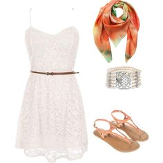 Beachy date by lepresca-torres on Polyvore featuring Monsoon, Bling Jewelry and Klements