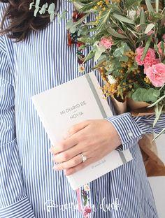 Mi diario de novia. Agenda de novia. Organizador de boda. Agenda de boda. Diario de boda. Regalo novia. Recuerdo boda.