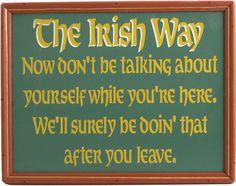 Northwest Gifts - Irish Pub Plaque, $19.95 (http://northwestgifts.com/irish-pub-plaque/)