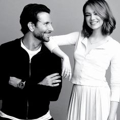 Bradley Cooper & Emma Stone by Jermaine Francis for People Magazine.