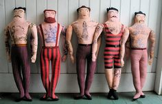 The Tattooed man... want them all for my sons room... heck for my living room!!!!