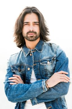 #longhair #beard #indianmodel #amitranjan #jacket