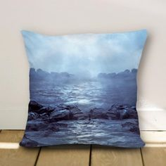 White canvas and light linen pillow cover 2000740 - Funny pillow cover - Pillow Cover