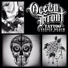 Tattoo Artists : Ocean Front - CA 90291 Venice