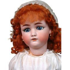 *Ginger Beauty* 28.5' Simon & Halbig 1349 'Jutta' Antique Bisque Doll