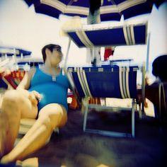 """The joys of the beach""  #Holga #holga120 #Lca #Lomography #Kodak #Ektar #analogue #analog #analoguelove #analoguevibes #analogfeatures #analogphotography #lomofi #resourcemag #candid #blurry #blurredvision #blurred #beach #summer #blue"
