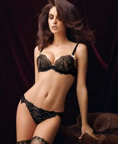 Lise Charmel lingerie. Beautiful lace! Like a second skin.