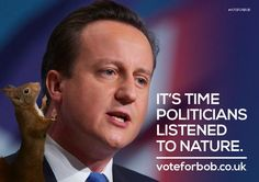 David Cameron gives his leader's speech today – what would you like to see him include for nature? #CPC14 #VoteforBob
