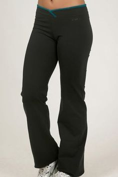 Be Up Women's Crossover Pant, Black/Green, Large Be Up. $79.00