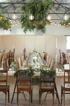 Hampton Event Hire // Long Wooden Dining Tables // Servicing Byron Bay / Gold Coast / Brisbane