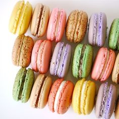 French macaroons steal the spotlight.
