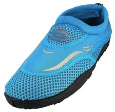 WavePro Women's Water Shoes with Elastic Mesh and Soft Removable Insole ** Check this awesome product by going to the link at the image.