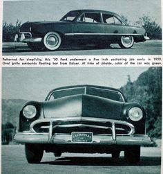 Don Britton 50 ford...... Calazonas car club