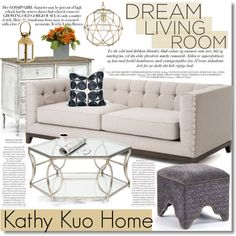 Designing with Kathy Kuo Home by fattie-zara on Polyvore featuring interior, interiors, interior design, home, home decor, interior decorating, modern, country and kathykuohome