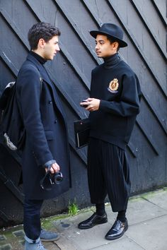 STREETSTYLE | London Collections: Men FW15 – Part II by Luca Imbimbo