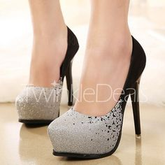 Trendy Sexy High Heel and Bling-Bling Design Women