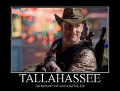 Zombieland has Twinkies~ Tallahassee Zombieland, Zombieland Movie, Memes Humor, Funny Memes, Funny Cute, Hilarious, Best Zombie, Best Horror Movies, Awesome Movies
