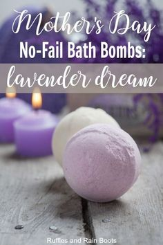 Relaxing Lavender Bath Bombs Recipe, DIY and Crafts, This is a no-fail bath bomb recipe using a scent to foster relaxation and soothing sleep: lavender. You can DIY Mother's Day this year and give mom so. Wine Bottle Crafts, Mason Jar Crafts, Mason Jar Diy, Diy Hanging Shelves, Floating Shelves Diy, Diy Home Decor Projects, Diy Projects To Try, Project Ideas, Galaxy Bath Bombs