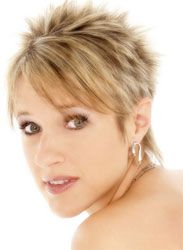 spiky razor cut hairstyles for women | Short Spiky Haircuts For Women - reviews and photos.