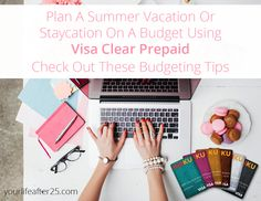 Summer vacation planning can be daunting, but the Kaiku Visa Prepaid Card, part of the VisaClearPrepaid program, can help keep your budget on track for a summer vacation abroad or a simple staycation with your family. #AD