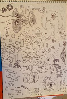 Arte Grunge, Grunge Art, Indie Drawings, Art Drawings Sketches Simple, Trash Art, Art Diary, Indie Art, Arte Sketchbook, Funky Art