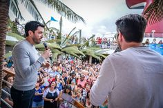 and I were thrilled to have of our biggest fans join us on the inaugural cruise. Make sure to share your favorite memories and tag us in your photos :) 35th Wedding Anniversary, Jonathan Silver Scott, Scott Brothers, Drew Scott, Property Brothers, Best Day Ever, Other People, Hot Guys, Sailing