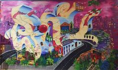 Tagged city #MerryChristmas #mural #graffiti #streetart #photography #urbanart #Williamsburg #Brooklyn #NewYork #NYC