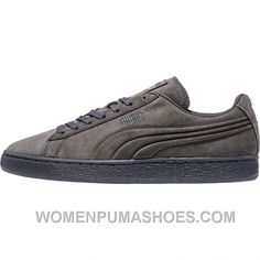 reputable site 421b9 db789 Puma Suede Mono Embossed + Iced (Mens) - Dark Shadow For Sale Y88NF