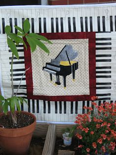 Grand Piano Quilt