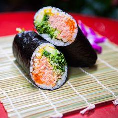 Sushi-Teria Salmon Like You Sushi Burrito