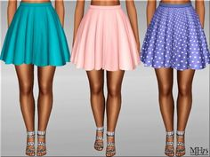 Sims Addictions: Skater Skirt • Sims 4 Downloads