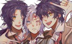 gambar mana, anime, and d. Girls Anime, Anime Couples Manga, Cute Anime Couples, Manga Girl, Fan Anime, Anime Art, Alan Walker, D Gray Man Anime, D Gray Man Allen