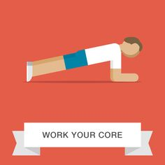 A strong core gives you more overall power, which radiates out to your arms and legs.
