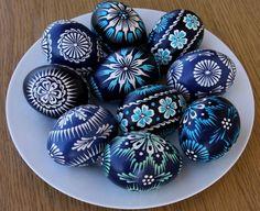 Past Times — sonya-heaney: Pysanky - Ukrainian Easter Eggs