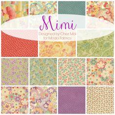 TheRibbonRetreat.com:  Mimi, Designed by Chez Moi for Moda Fabrics