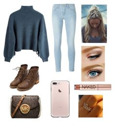 """""""✌✌❄❄"""" by ll1021 ❤ liked on Polyvore featuring Frame, Urban Decay and MICHAEL Michael Kors"""
