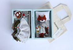 RESERVED FOR ALEX: Mini fox set Nim
