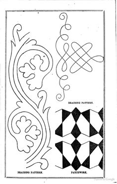 Arthur's Home Magazine - Timothy Shay Arthur - Google Books  soutache, couching, embroidery, pattern, trim, sewing