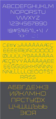 Бесплатные кириллические шрифты #39