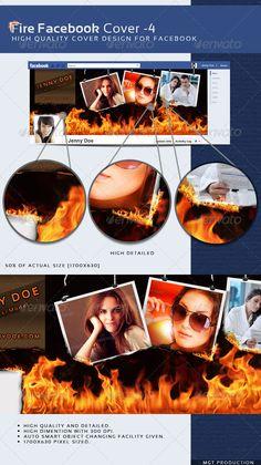 Fire Facebook Timeline Cover-4