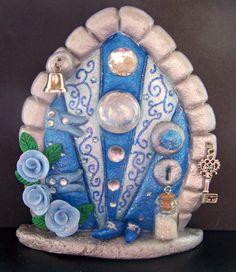Fairy Door  Herculite by CharmedFairyDoors on Etsy, £9.00