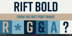 Check out the Rift font at Fontspring.